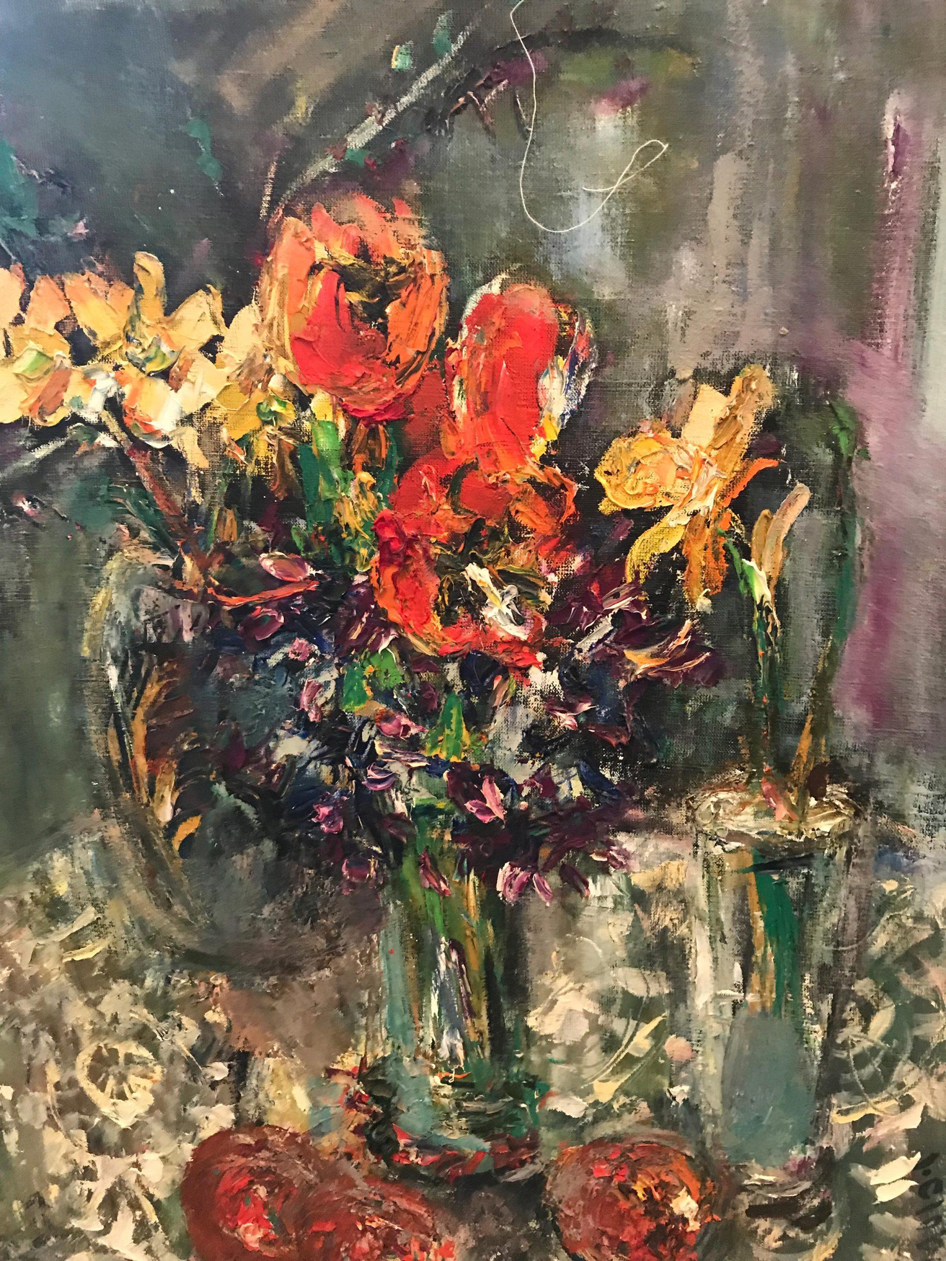 Ираида Чобану – «Натюрморт с цветами»