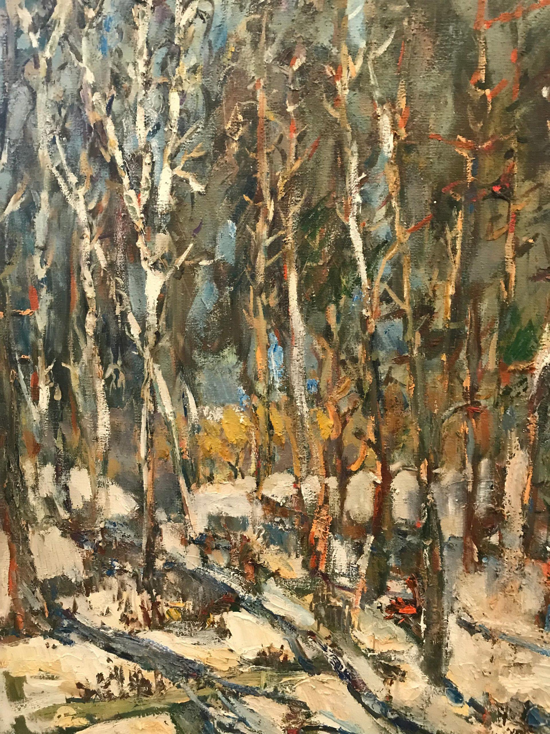 Ираида Чобану – «Зимний пейзаж»