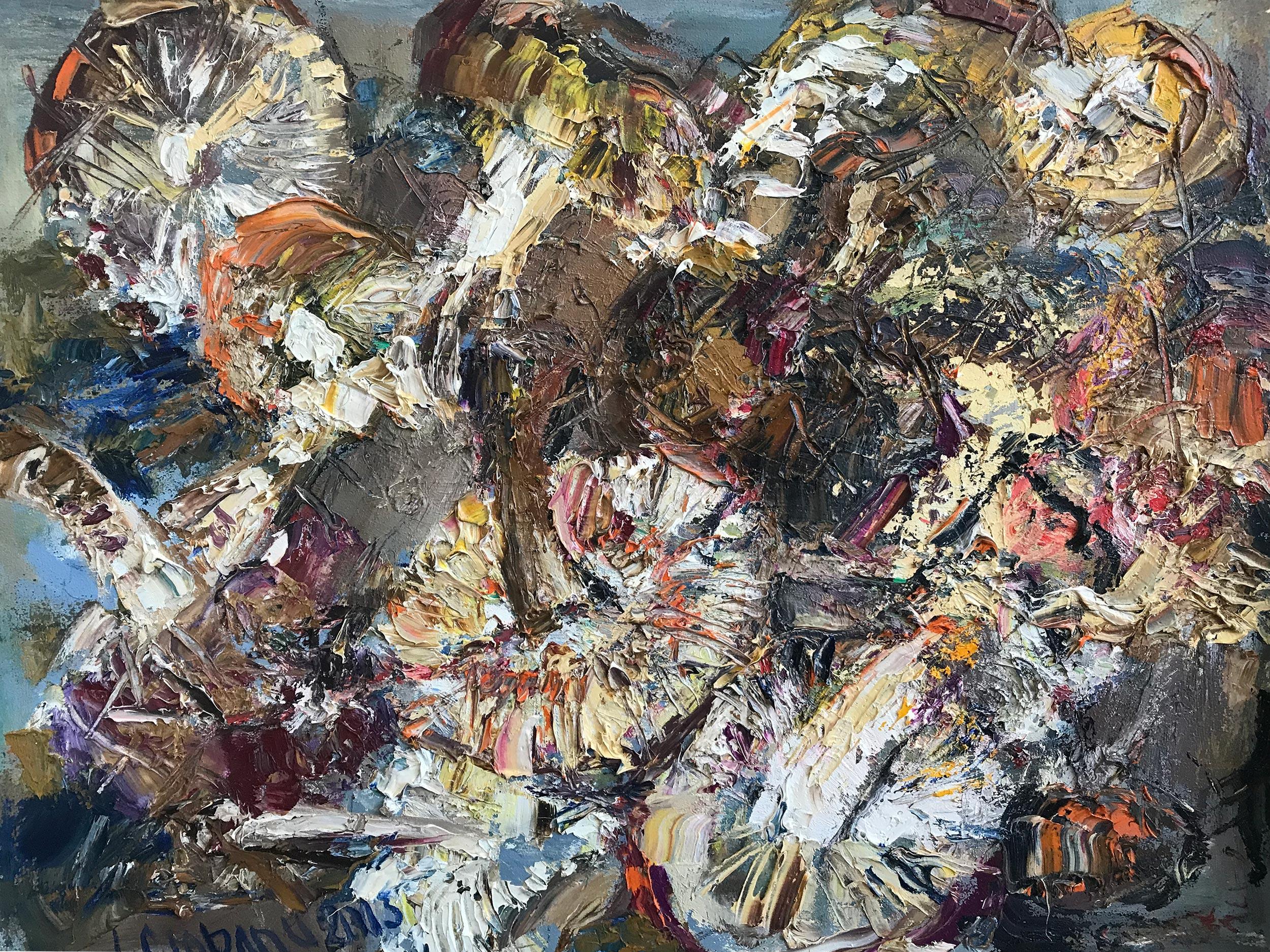 Ираида Чобану –  «Медитация: Грибы — 2»